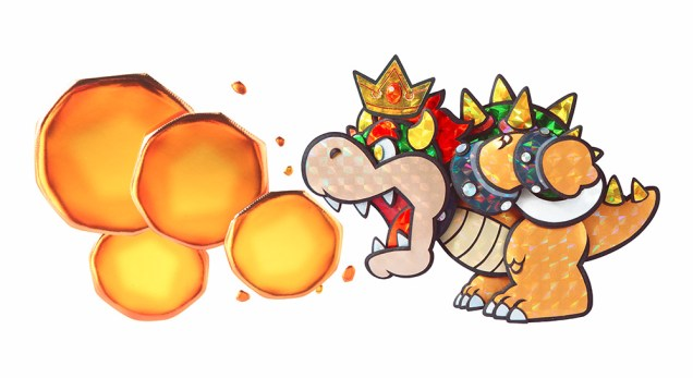 Bowser Paper Mario