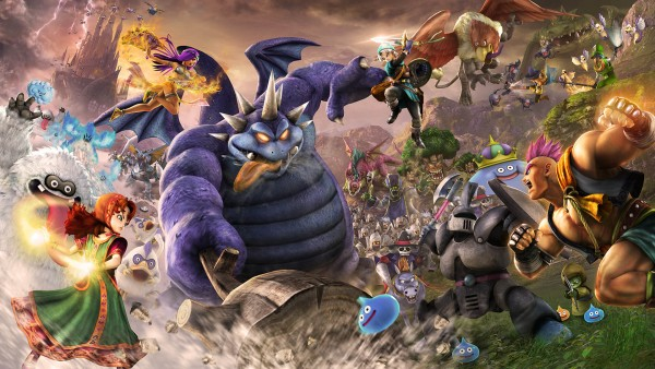 Dragon Quest Heroes ii render