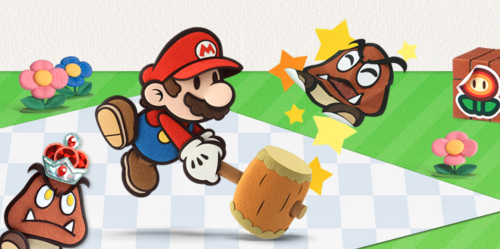Paper Mario Sticker Star 3DS banner