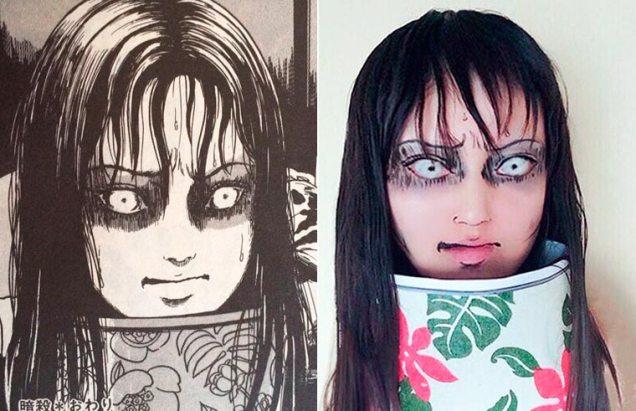 Ikura cosplay Junji Ito 05