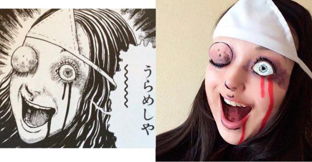 Ikura cosplay Junji Ito 08