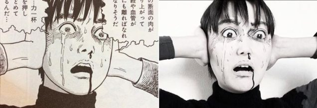 Ikura cosplay Junji Ito 15