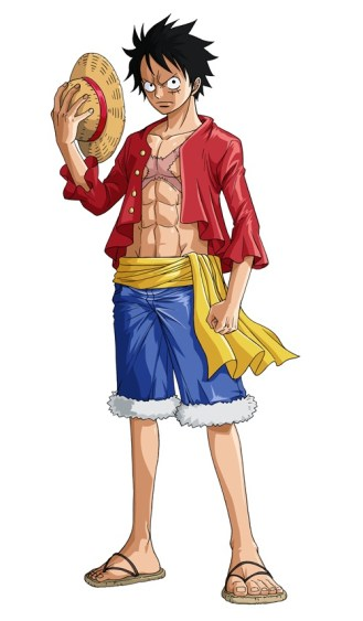 Luffy One Piece Great Pirate Colosseum