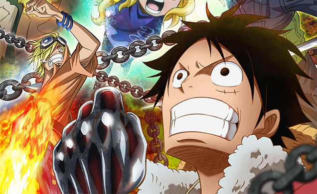 One Piece Heart of Gold Luffy
