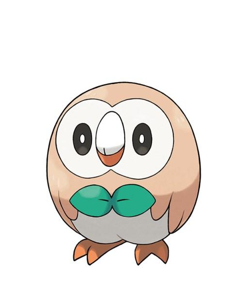 Rowlet Pokemon Sol Luna
