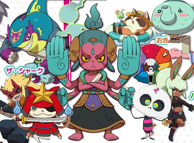 Yo-kai-Watch-3-monsters