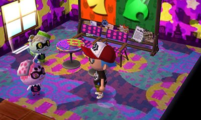 Animal Crossing New Leaf - Splatoon