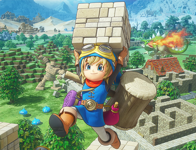 Dragon Quest Builders render