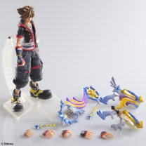 kingdom hearts iii sora play arts kai 8