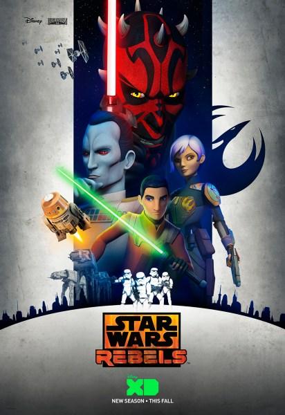 Star Wars Rebels Tercera Temporada