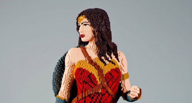 Wonder Woman LEGO 1