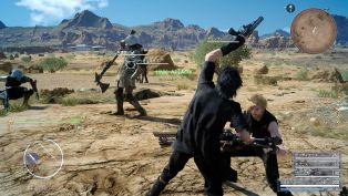 Final Fantasy XV chocobo equipo ataques 2