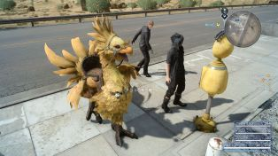 Final Fantasy XV chocobo equipo ataques 23