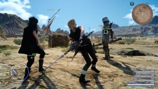 Final Fantasy XV chocobo equipo ataques 6