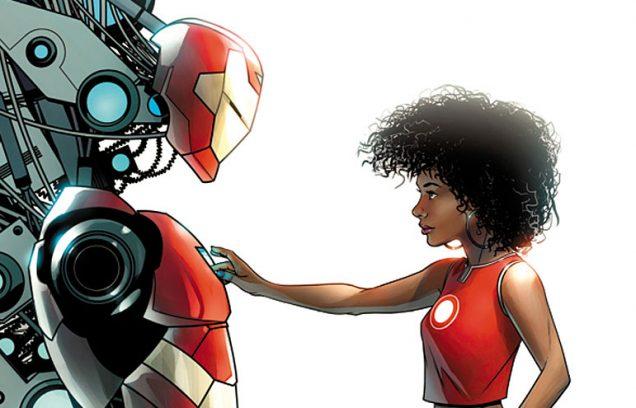 Invencible Iron Man Ironheart Risi