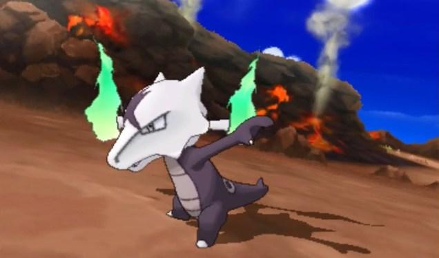 Marowak de Alola - Pokémon Sol y Luna