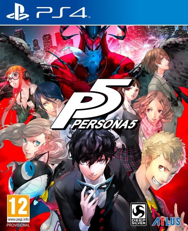 Persona 5 PS4 PAL
