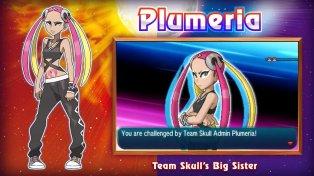 Plumeria Pokemon Sun Moon