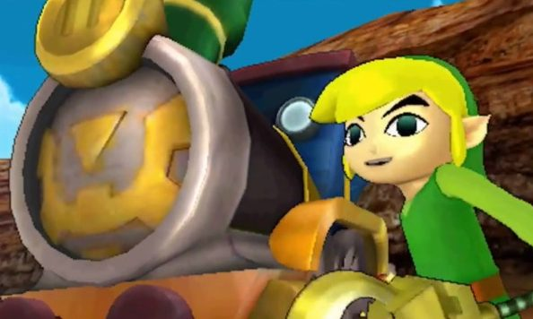 Hyrule Warriors Legends Toon Link Spirit Tracks