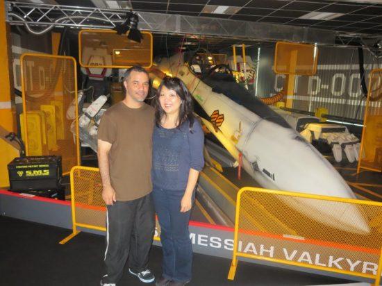 Jason & Cheryl – visiting Japans important cultural sites.