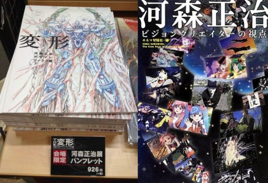 Two books referred to extensively in this double episode. LEFT: The HENKEI Exhibit booklet. RIGHT: 'The Viewpoint of a Visionary Creator.'