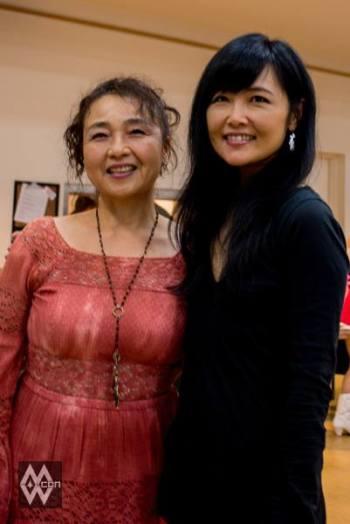 Run Sasaki (Vanessa) & Mari Iijima (Minmay) – Photo by Dennis Chu.