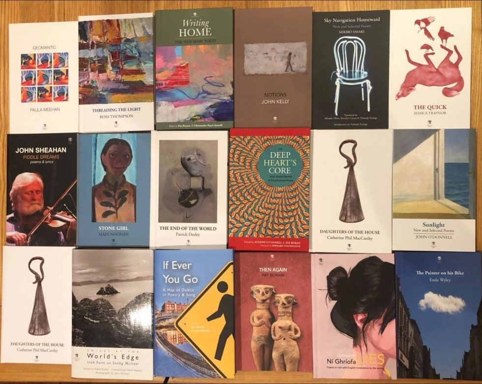 selection of books - Dedalus Press 2020 Vision