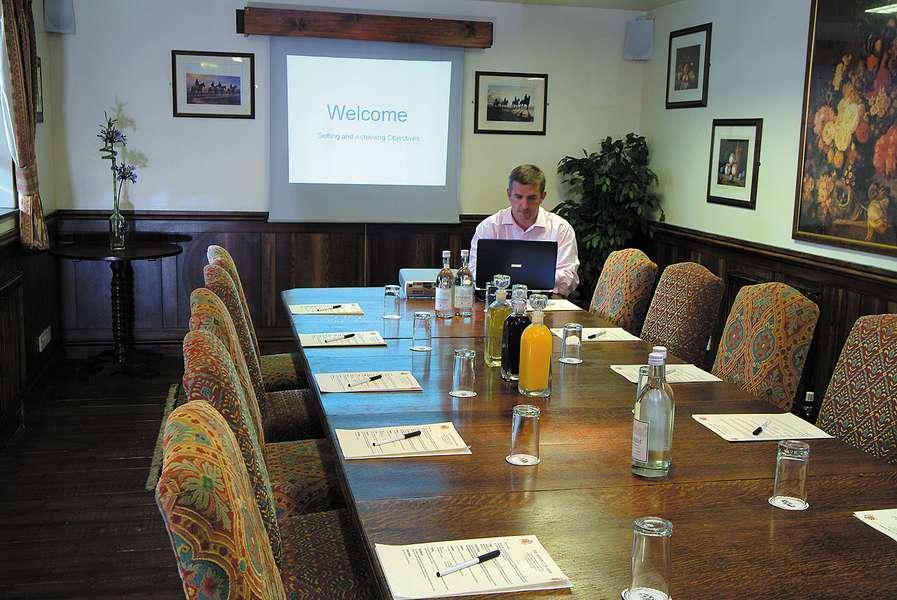 Deddington Hotel Meeting Room Oxfordshire