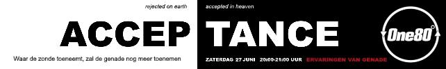 Acceptance – Online event