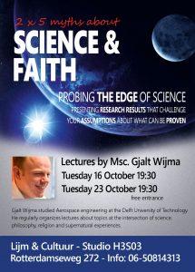 folder lezing 5 mythes over wetenschap en geloof