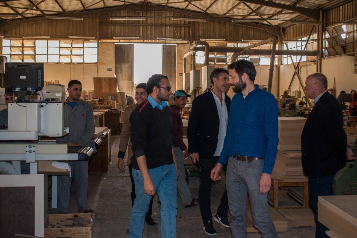 زيارة واحد من أحدث المصانع( مصنع بينوكيو ) الذي يصنع الأثاث بأساليب عصرية