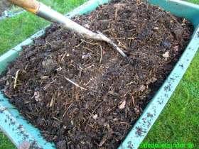 Zelfgemaakte compost