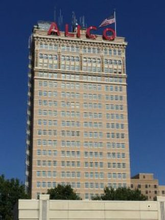 The Alico Building, downtown Waco, Texas