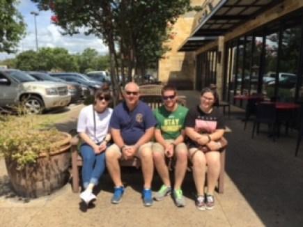 family in Austin