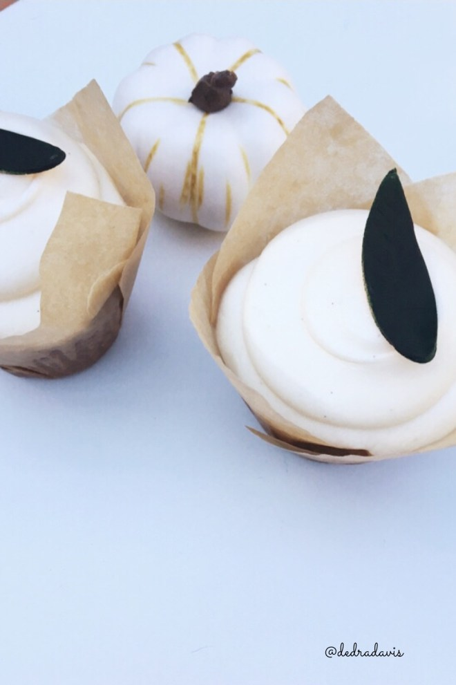 Short And Sweet, As In Pumpkin Cupcakes