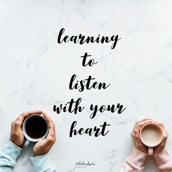 Learning To Listen With Your Heart