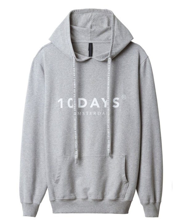 10DAYS - Hoodie - Grijs