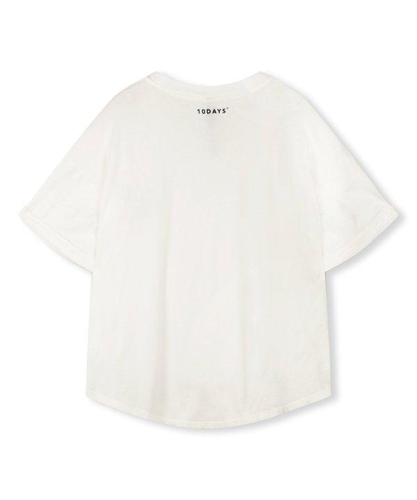 Tee Liberty – 10DAYS – Ecru 10Days T-shirt