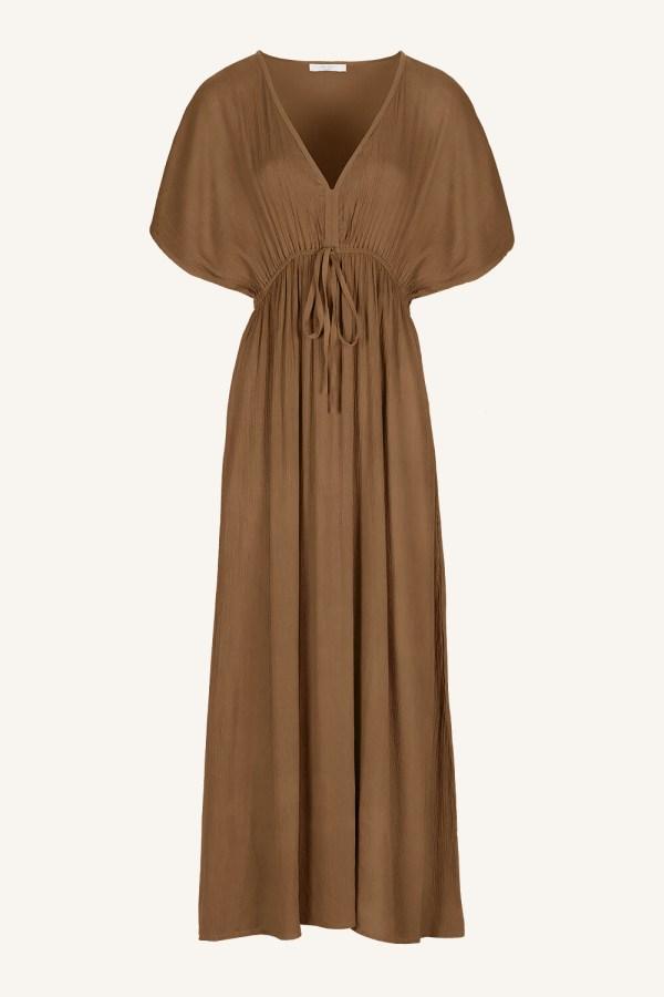 Long Dress - BY-BAR - Dry Khaki