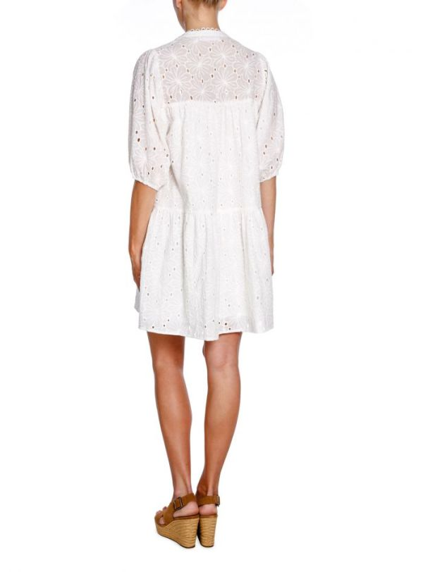Pola Anglaise Dress - Co'Couture - Wit