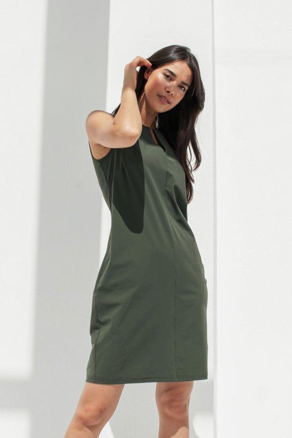 Caro SL Dress – Studio Anneloes – Green Nieuw Jurk