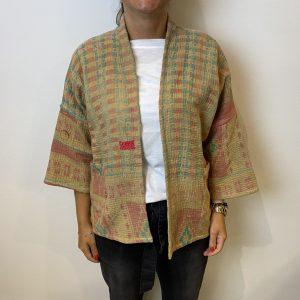 Antic Jacket - BY-BAR - Oranje/Groen