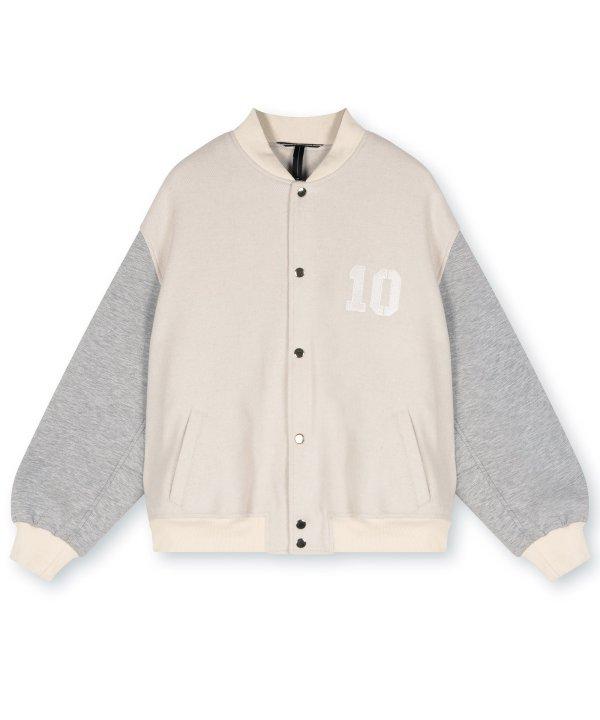 Baseball Jacket - 10DAYS - Sand
