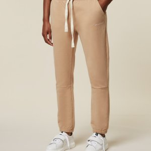 Cropped Jogger Faded - 10DAYS - Camel