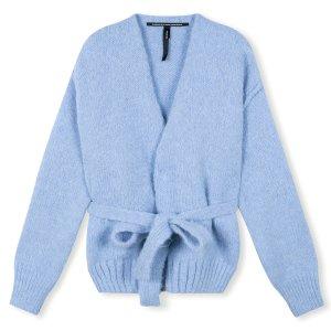 Short Cardigan Alpaca - 10DAYS - Blauw