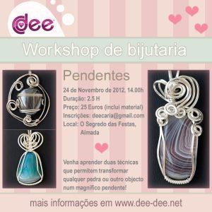 Workshop pendentes