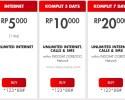 Paket Internet Im3 Unlimited Murah Mulai 5 Ribuan