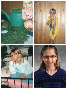 Kuvia lapsuudesta.