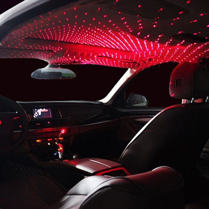 USB Mini LED Car Roof Lights Projector Wonderful For Home Car Starry Sky Meteor USB Light PC Computer Universal Waterproof Light