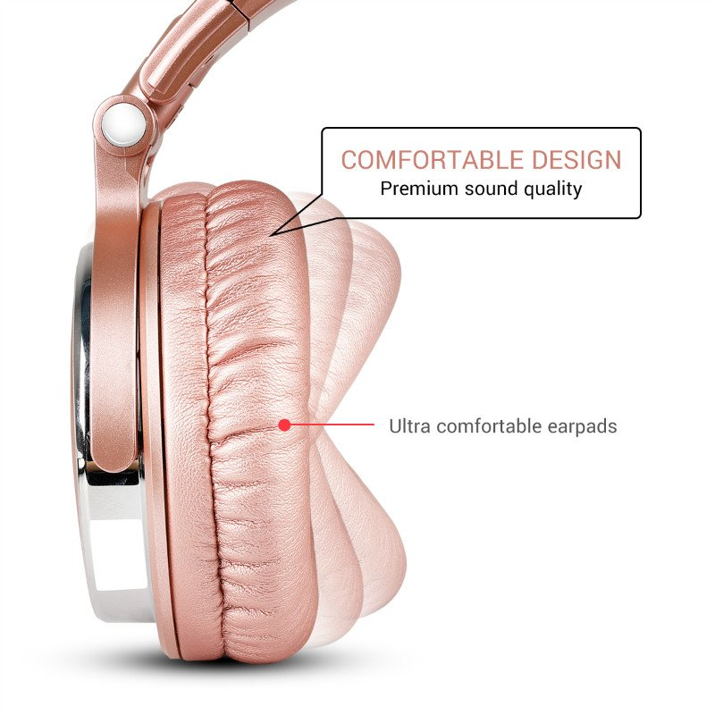 Oneodio Headphones Professional Studio Dynamic Stereo DJ Headphone With Microphone HIFI Wired Headset Monitoring For Music Phone